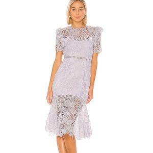 SAYLOR Lavender Lazuli Lace Dress